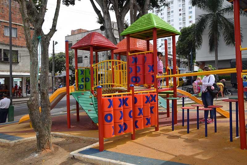 Juegos Infantiles Parque Cristo Rey